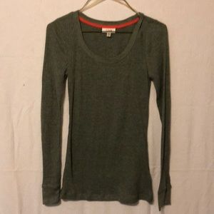 Women's long sleeve shirt by graine size medium